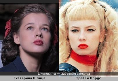 Милахи -Катя &Трейси на этих фото похожи