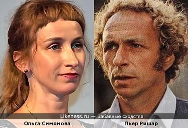 Актриса Ольга Симонова напоминает Пьера Ришара