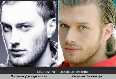 Два восточных красавца: грузин Мириан Джеджелава и турецкий актер Кыванч Татлытуг