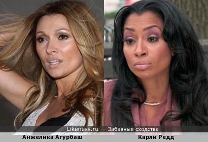 Анжелика Агурбаш & Карли Редд
