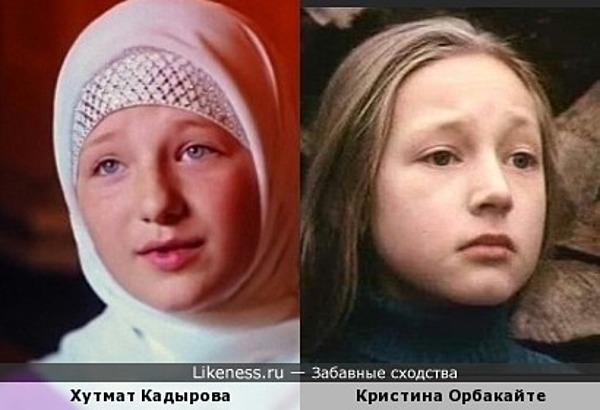 Маленькая дочь Рамзана Кадырова похожа на дочь Аллы Пугачевой в детстве