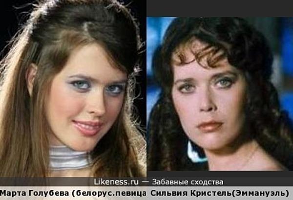 Пассия Бацьки- начинающая певица и актриса Марта Голубева- это новая Эммануэль?