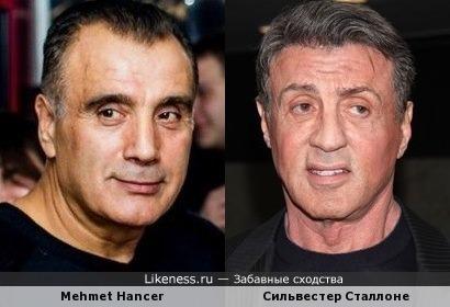 Mehmet Hancer и легенда голливудских боевиков Сильвестер Сталлоне