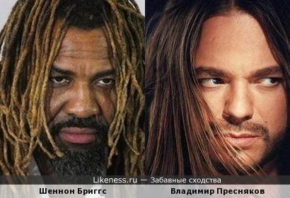 боксёр Шеннон Бриггс похож на росийского певца Владимира Преснякова