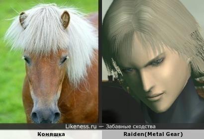 Коняшка похож на Райдена