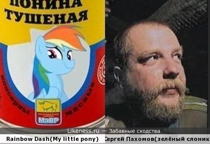 Задумчивые лица (Rainbow Dash и Пахом одно лицо?)