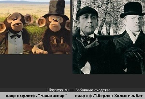 """кадр с мультф. """"Мадагаскар"""