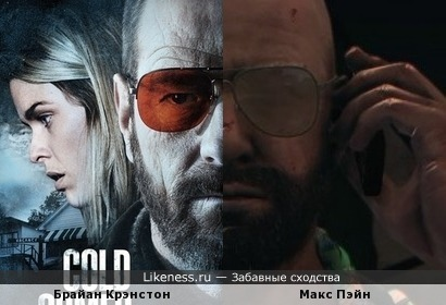 Брайан Крэнстон похож на Макса Пэйна