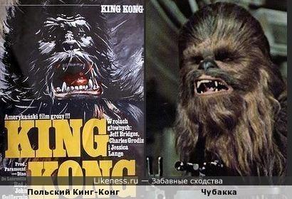 Польский Кинг-Конг - родственник Чубакки?