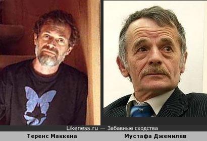 Теренс Маккена похож на Мустафу Джемилева