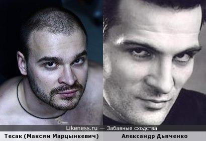 Тесак напоминает актера..