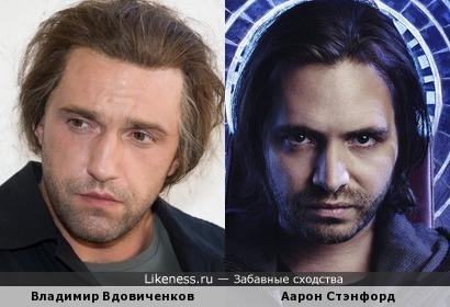 Владимир Вдовиченков и Аарон Стэнфорд