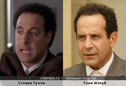 Стэнли Туччи и Тони Шэлуб