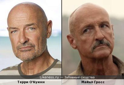 Терри О'Куинн и Майкл Гросс