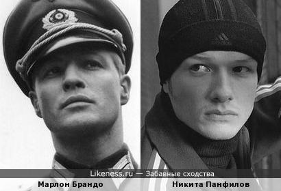 Марлон Брандо и Никита Панфилов
