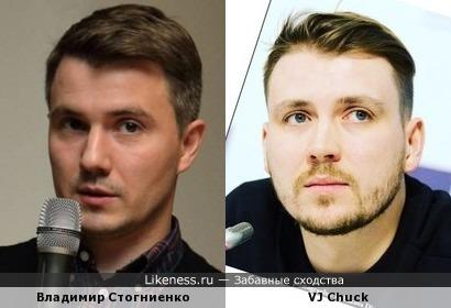 Я уж было подумал, что Владимир Стогниенко подрабатывает на Муз-ТВ