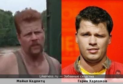 """Майкл Кадлитц из 4 сезона """"Ходячих мертвецов"""
