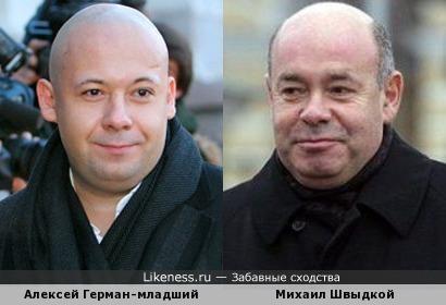Алексей Герман-младший и Михаил Швыдкой