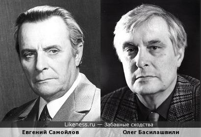 Два популярных актера разных поколений (между прочим, оба Валериановичи)