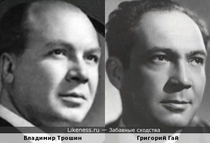Владимир Трошин на этой фотографии напоминает Григория Гая