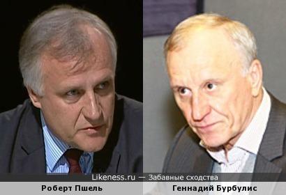 Одного поля ягоды: директор московского информбюро НАТО Роберт Пшель и Геннадий Бурбулис