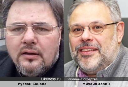 Журналист Руслан Кацаба и экономист Михаил Хазин
