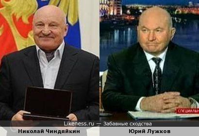Николай Чиндяйкин напомнил Юрия Лужкова