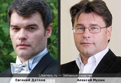 Актер Евгений Дятлов и политолог Алексей Мухин
