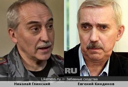 Николай Глинский напомнил Евгения Киндинова