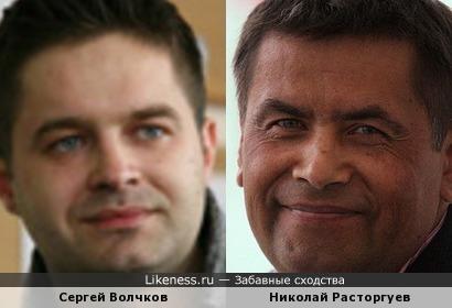 Сергей Волчков напомнил Николая Расторгуева