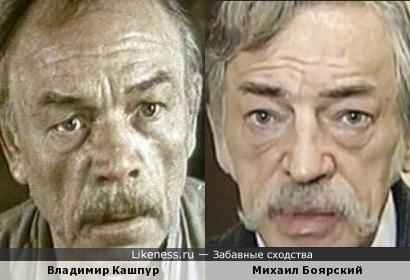 На этом фото Михаил Боярский напомнил Владимира Кашпура