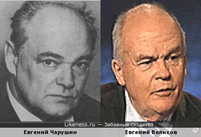 Два почтенных Евгения: писатель и академик