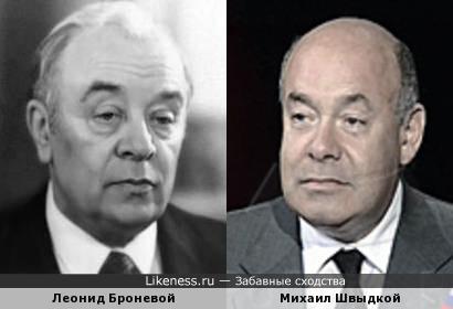 На этом фото Швыдкой смотрит взглядом Броневого