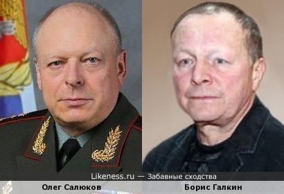 Главком сухопутных войск Олег Салюков напомнил Бориса Галкина