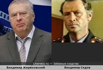 Актер Владимир Седов напомнил Владимира Вольфовича