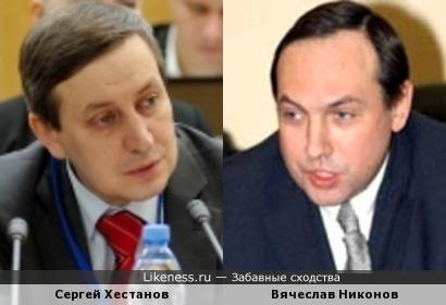 Вячеслав Никонов иногда напоминает Сергея Хестанова