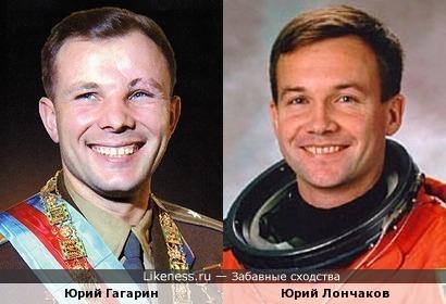 Космонавт Юрий Лончаков напоминает своего прославленного предшественника