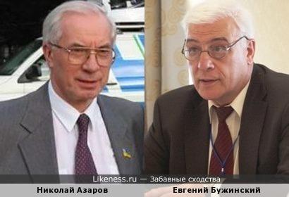 Генерал-лейтенант Евгений Бужинский напомнил Николая Азарова