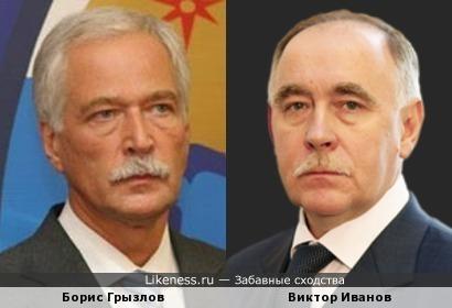 Суровые государственники: Борис Грызлов и Виктор Иванов