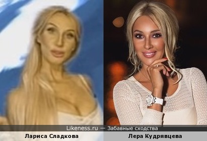 Лариса Сладкова с челябинского ТВ - бледная тень Леры Кудрявцевой?