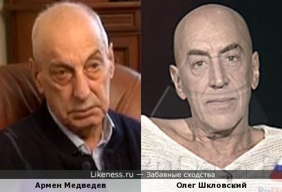 Армен Медведев и Олег Шкловский