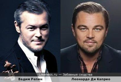 Вадим Репин и Леонардо Ди Каприо