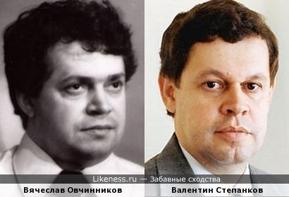 Композитор Вячеслав Овчинников и бывший Генпрокурор Валентин Степанков