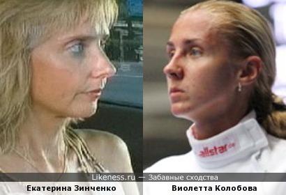 Фехтовальщица Виолетта Колобова напомнила Екатерину Зинченко