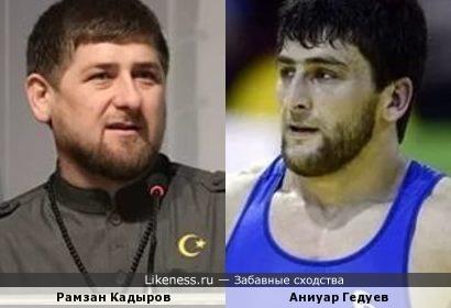 Аниуар Гедуев напоминает Рамзана Кадырова