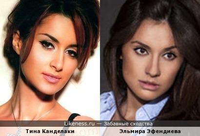 Телеведущая Эльмира Эфендиева напомнила Тину Канделаки