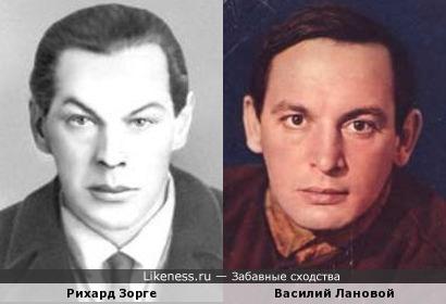 """""""Как молоды мы были..."""": Рихард Зорге и Василий Лановой"""