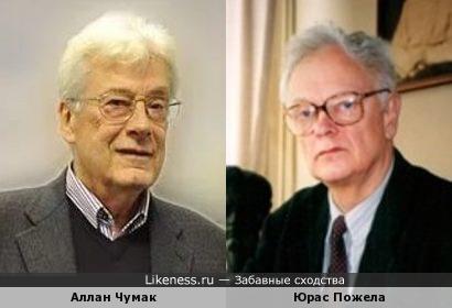 Целитель Аллан Чумак и академик Юрас Пожела
