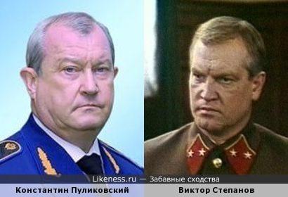 Константин Пуликовский и Виктор Степанов