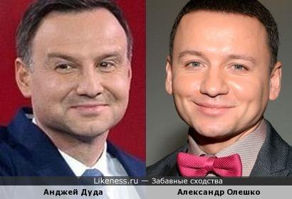 Польский президент и российский актер